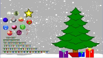 Decorate the Christmas Tree Flipchart