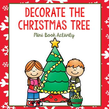 Decorate the Christmas Tree Mini Book