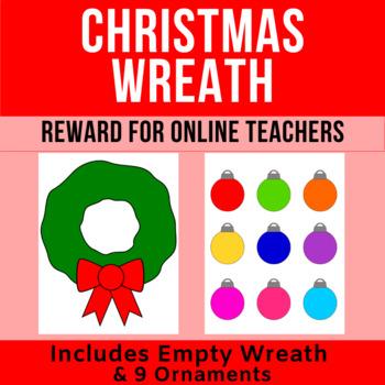 Decorate the Christmas Wreath Reward   Online ESL Teachers   VIPKid, Gogokid