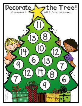 Decorate the Tree - Addition