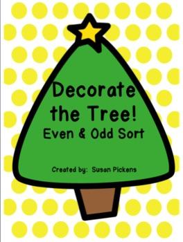 Decorate the Tree!  (Even & Odd Sort)