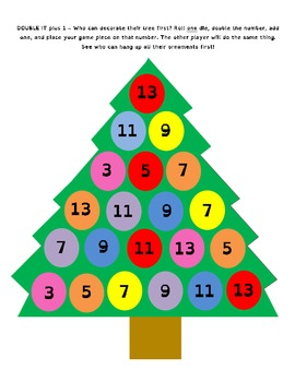 Decorate the Tree - Math Games