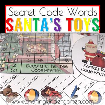 Santa's Toys {Secret Code Words}