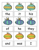 Decorate the Tree - Sight Words