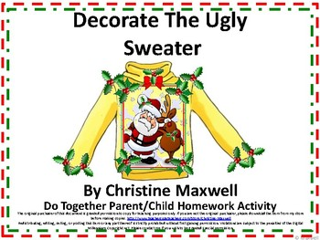 Decorate the Ugly Sweater