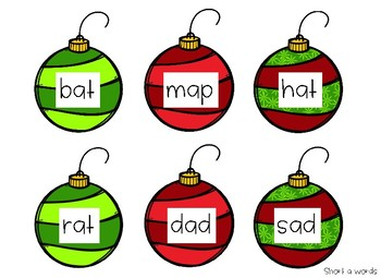 Decorate the tree with CVCs