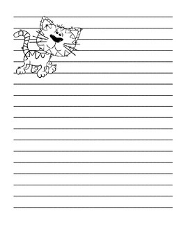 Decorated Writing Paper