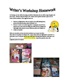 Decorating Writing Notebooks Instructions