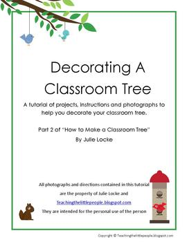 Decorating Your Classroom Tree