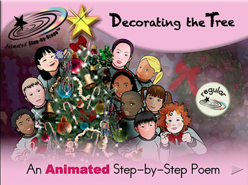 Decorating the Tree - Animated Step-by-Step Poem