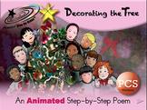 Decorating the Tree - Animated Step-by-Step Poem PCS Symbols