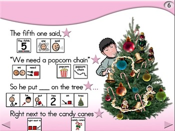 Decorating the Tree - Animated Step-by-Step Poem - SymbolStix