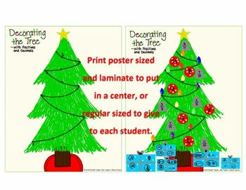 Decorating the Tree With Fractions and Decimals