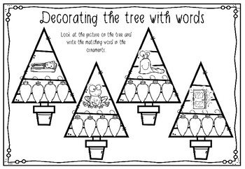 Decorating the Tree with words