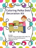 Decoration Kit - Colorful Polka Dots