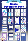 Editable Decoration Pack - Space