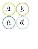 Decorative Alphabet Letters