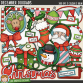 "Decorative Christmas Clip Art: ""December DooDads"""