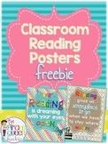 Decorative Classroom Reading Posters Freebie