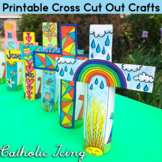 Decorative Cross Cut Out Craft for Kids