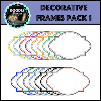 Decorative Frames - Pack 1