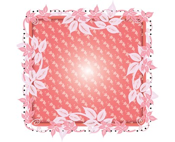 "Decorative Frames, Printable Digital Clip Art 150 DPI, 7"", 3 Colors, 4 Styles"