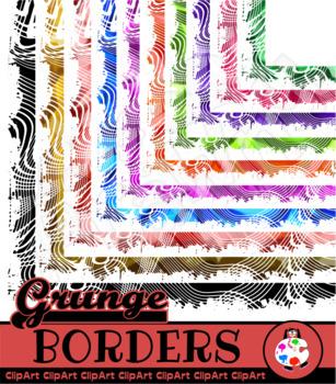 Decorative Grunge Page Frames