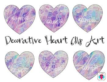 Decorative Heart Clip Art