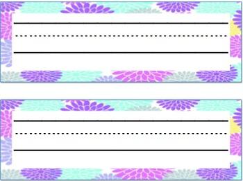 Decorative Name Plates