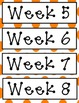 Decorative Weekly Display Cards