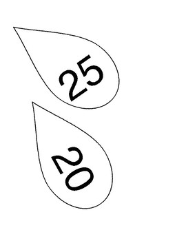Decorative numbers for around wall clock