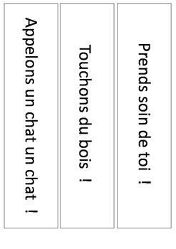 Découverte de l'impératif (Français / Anglais)