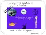 Découverte du monde : évolution de la guerre