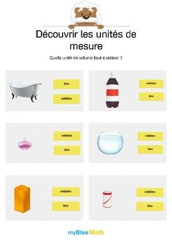 Découvrir les unités de mesure 3 -Choisir la bonne unité de volume