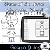 Character Traits and Theme Character Wheel and Foldable fo
