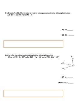Deductive Reasoning & Conditional Statement PRACTICE TEST