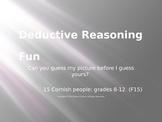 Deductive Reasoning Fun-15 cornish people