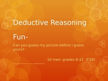 Deductive Reasoning Fun-10 men
