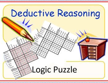 Deductive Reasoning Logic Puzzle