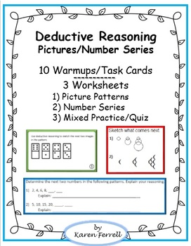 Deductive Reasoning – Picture and Number Patterns