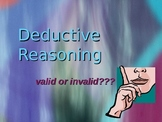 Deductive Reasoning Powerpoint