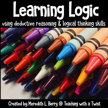 Deductive and Logical Reasoning Activities