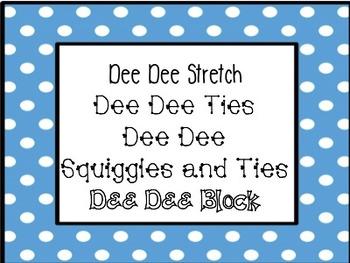 Dee Dee Fonts