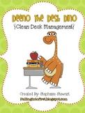 Deeno The {Clean} Desk Dino