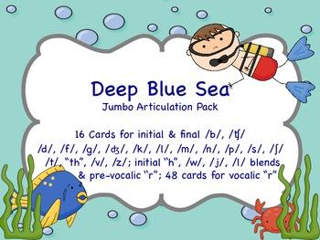 Deep Blue Sea - Jumbo Ocean Artic Pack
