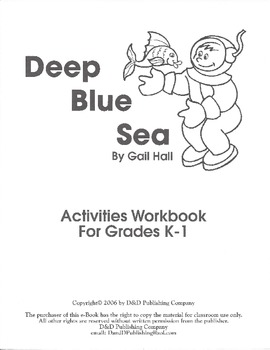 Deep Blue Sea Science Center Activity Packet
