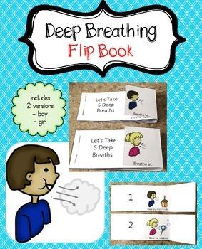 Deep Breathing Flip Book (for calming down)
