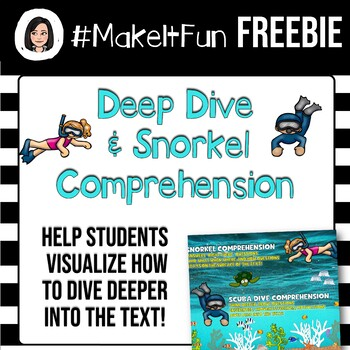 Deep Dive or Snorkel Comprehension Sign
