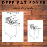 Deep Fat Fryer - Kitchen Equipment Worksheet