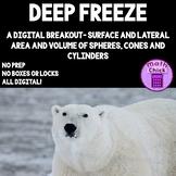 Deep Freeze Digital Escape Surface Area Lateral Area Volum